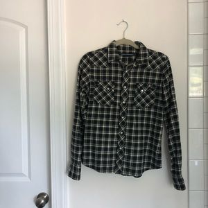 Ralph Lauren Sport Flannel, size Small
